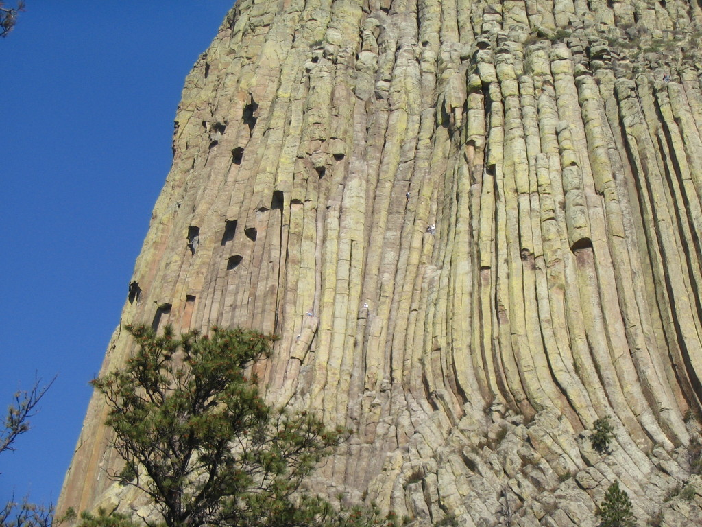 2006 devil's tower rock climbers