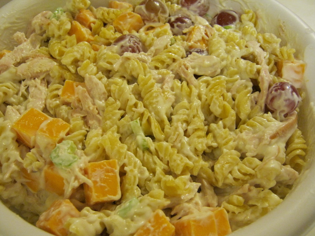 chicken and red grape salad