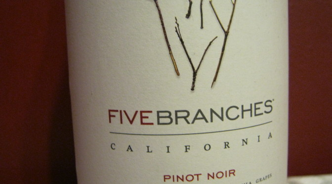Five Branches – Pinot Noir