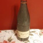 dusty bottle of King Estate Pinot Noir