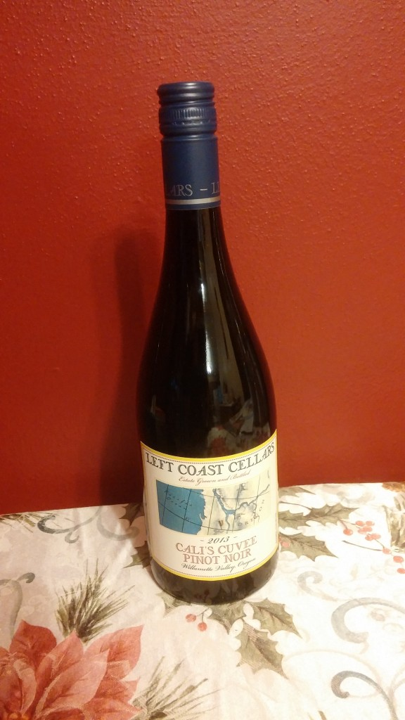 Left Coast Cellars Pinot Noir bottle