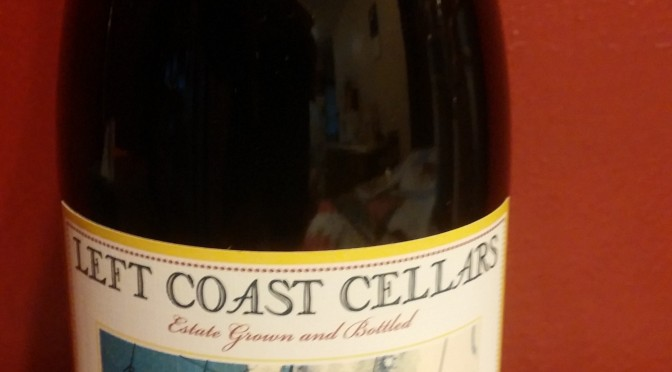Left Coast Cellars Pinot Noir
