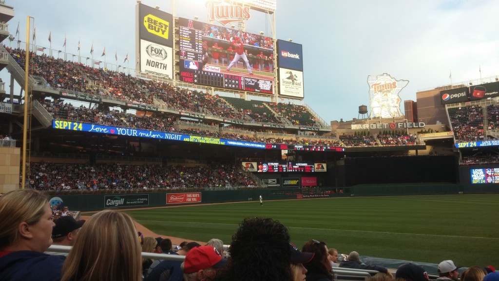 Twins Baseball screen