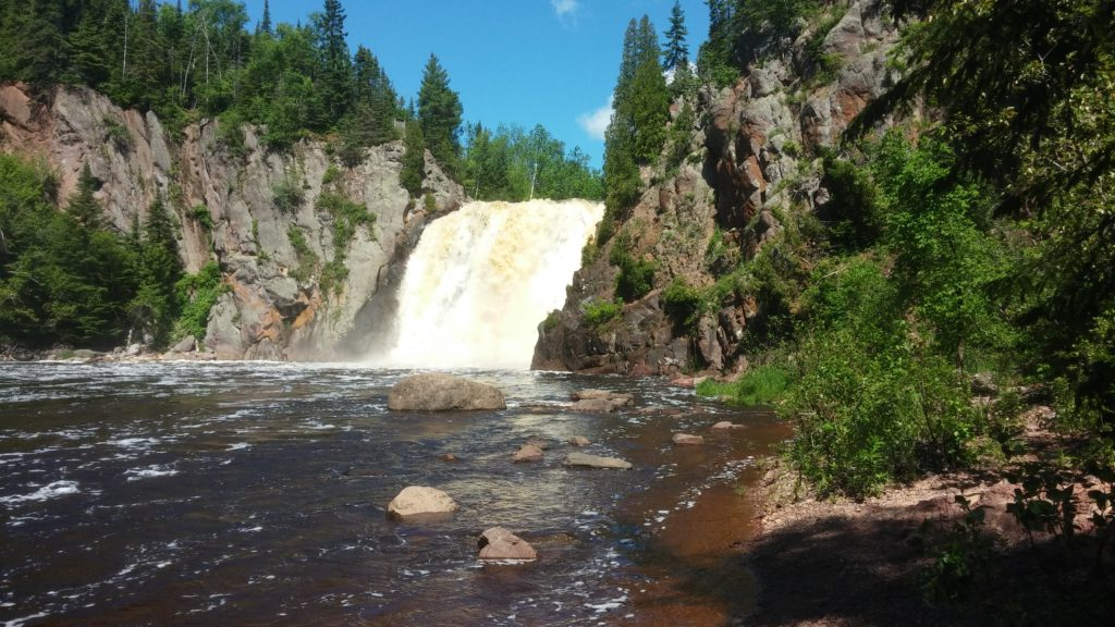 June 2016 335 Tettegouche State Park High Falls