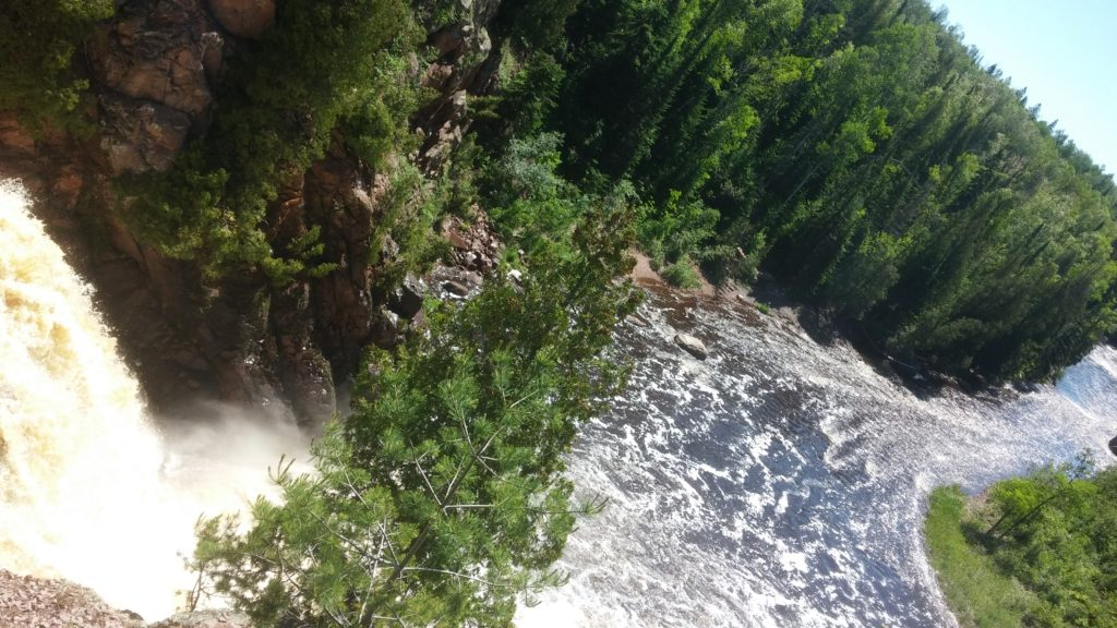 June 2016 391 Tettegouche State Park High Falls