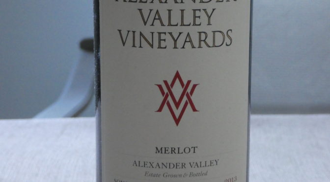 Alexander Valley Vineyard Merlot